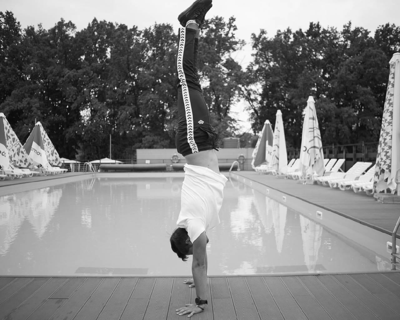 заслуженный мастер спорта Украины по прыжкам в воду. Илья Кваша