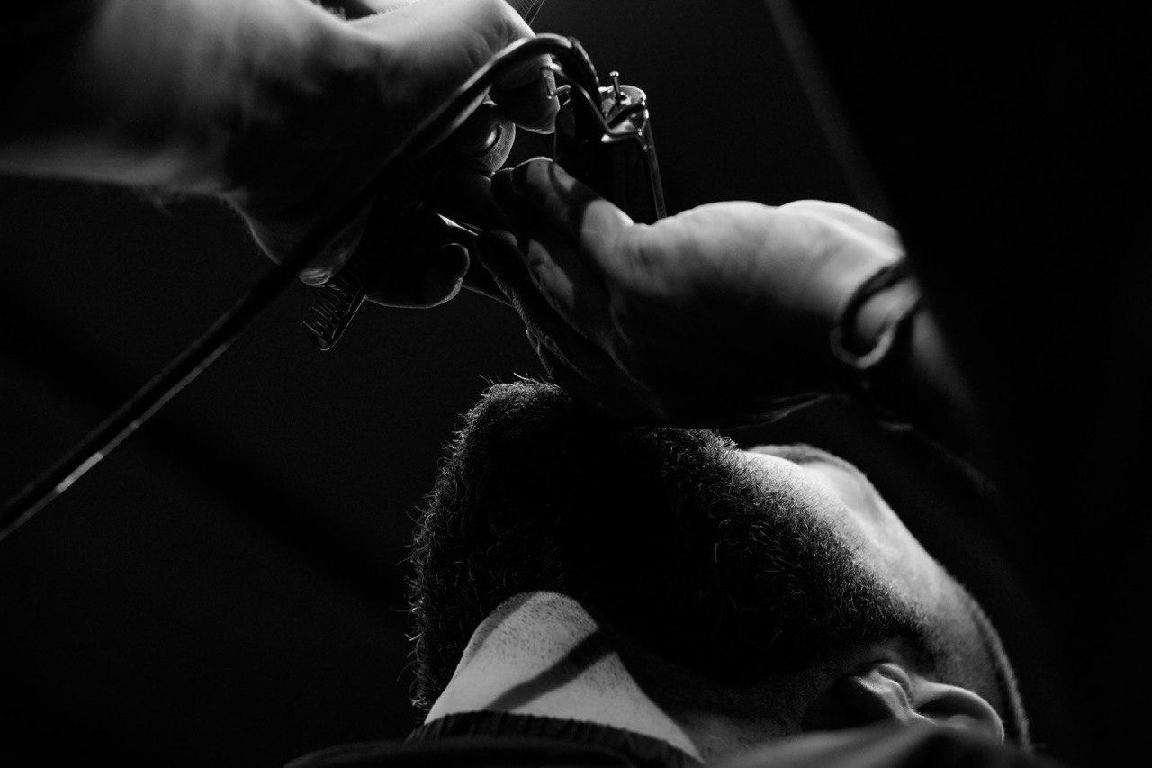 бритье станком